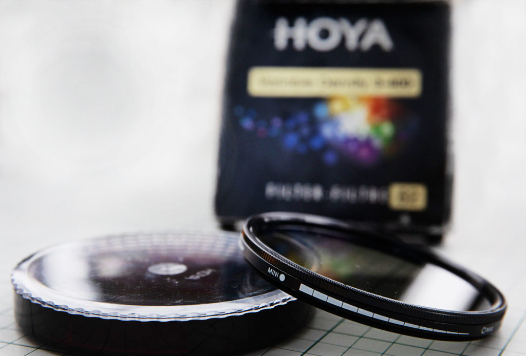 Slutartid Hoya ND filter