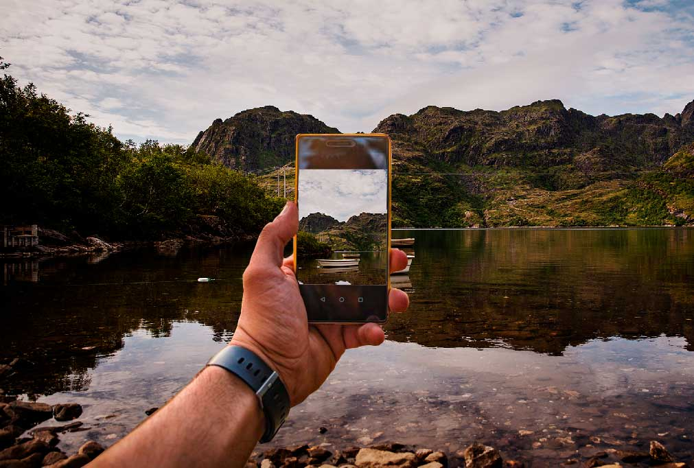 Mobiltelefon i Norge vy