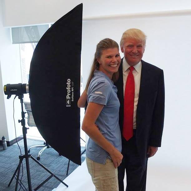 Donald Trump  Fotograf Donald Trump Helen Shippey fotograferar Donald Trump i Dubai