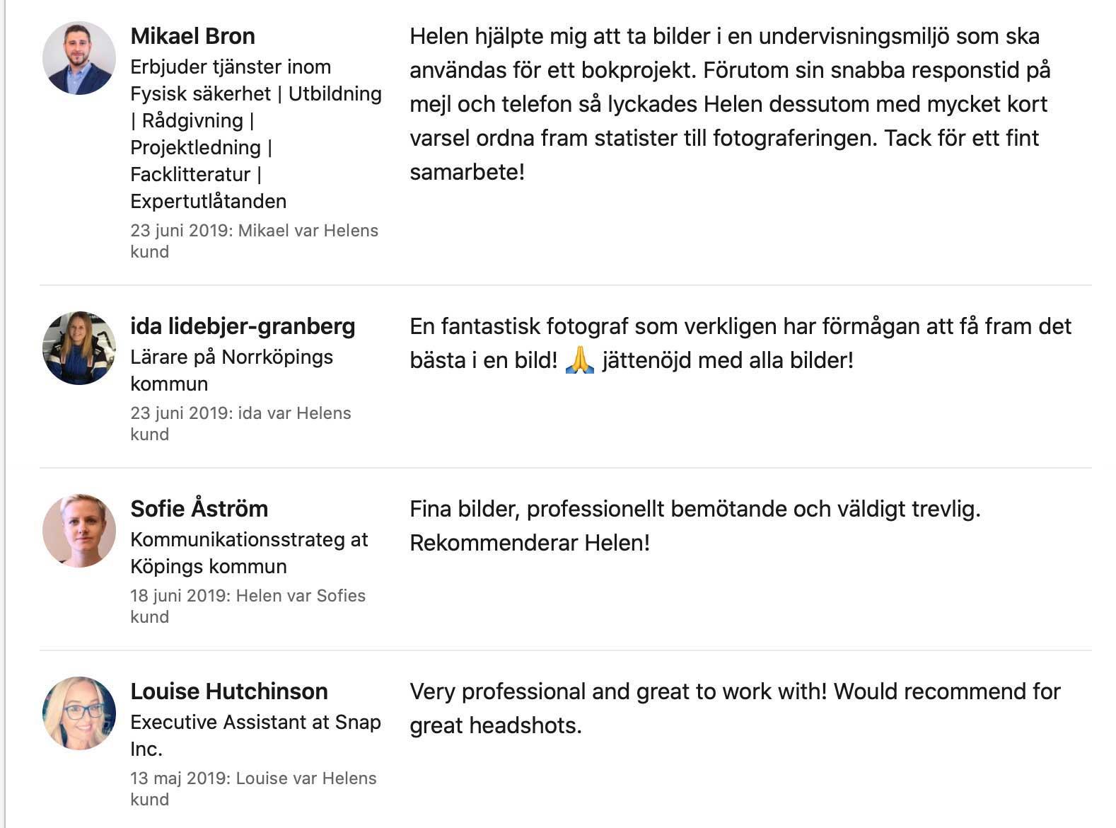 Fotograf Västerås