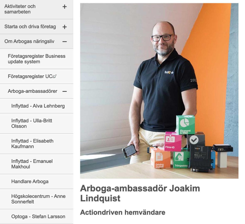 Arboga Ambassadör Bilden