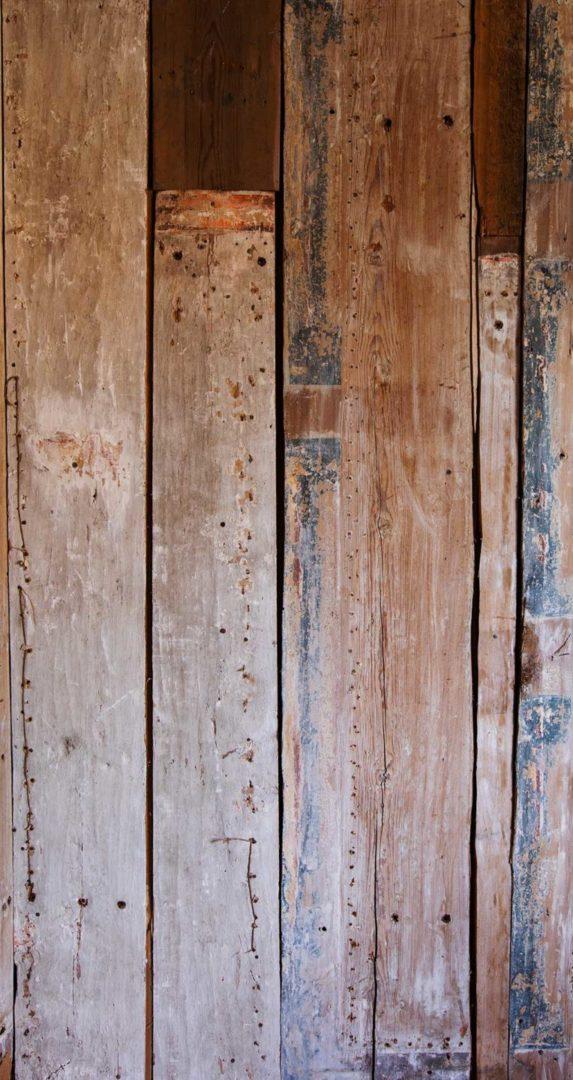 Fototapet Gamla träväggar från 1800-talet