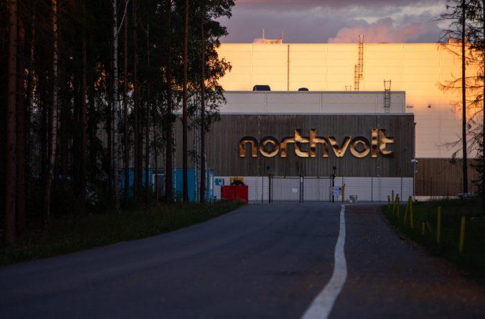 Northvolt i Västerås valde Shippey för områdesbilder och verksamhetsbilder, drönare
